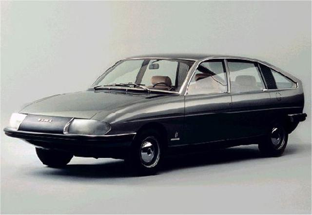 Prototype British Leyland 1100 « Berlina » ayant inspiré la GS
