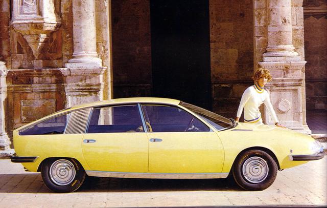 Prototype British Leyland 1800 « Aerodynamica »
