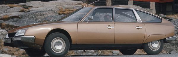 """CX 2000 """"confort"""" de présérie"""