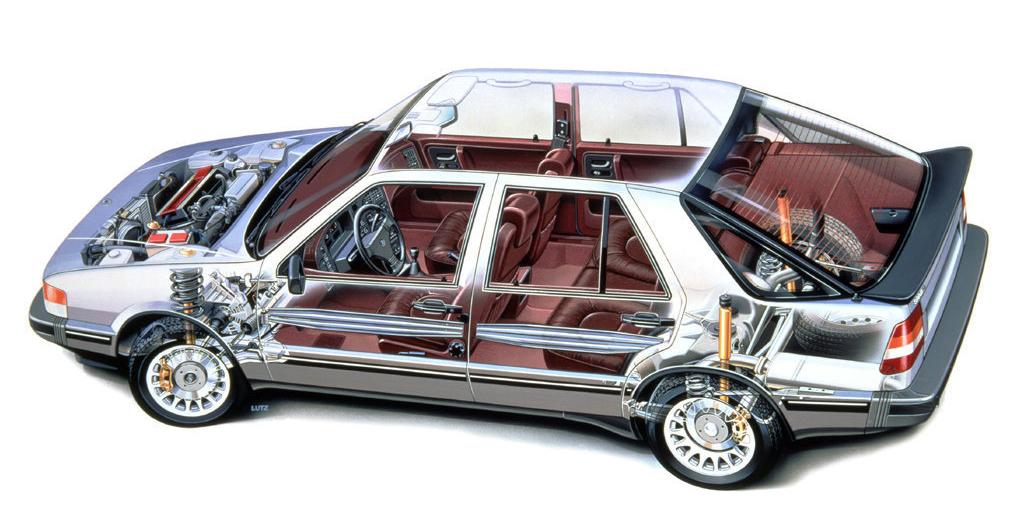 Saab9000écorché