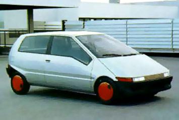 Prototype W60 dessiné en 1986 par Marcello Gandini
