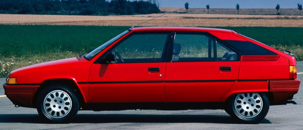 Citroën BX : star des années 80